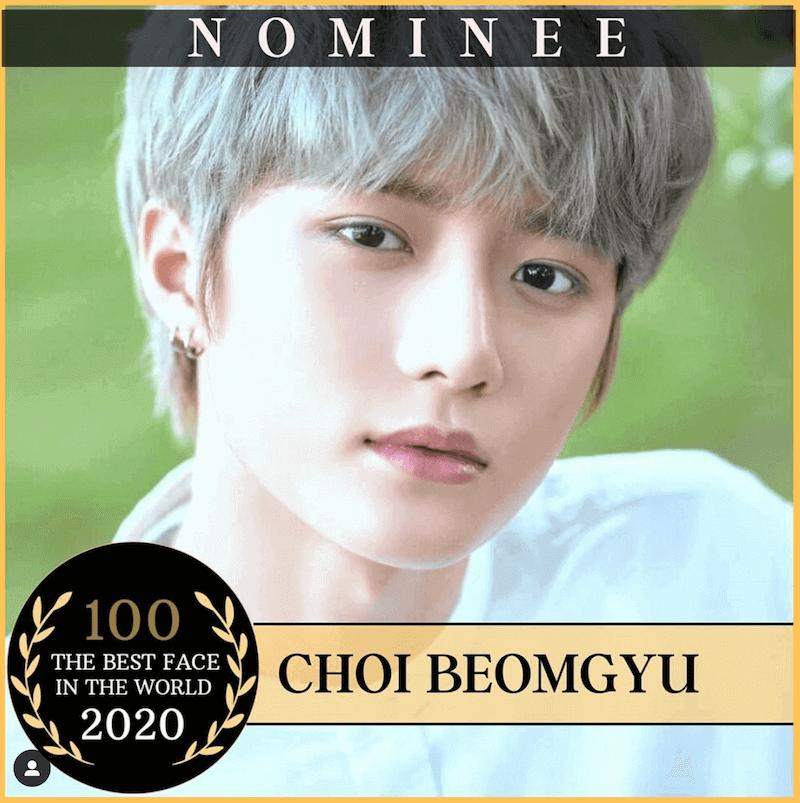 世界 で 最も 美しい 顔 ランキング 2020 ノミネート